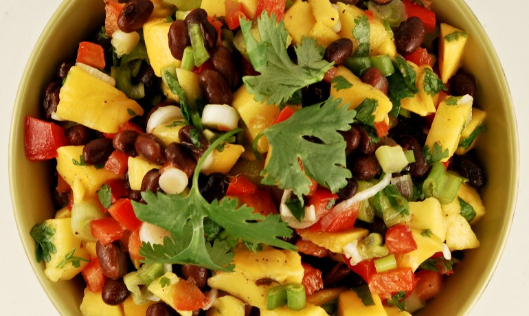 Gonna Want Seconds - Mango Black Bean Salad